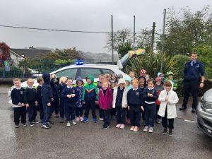 Garda Tom Visits Senior Infants