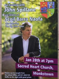 Raffle for John Spillane Concert