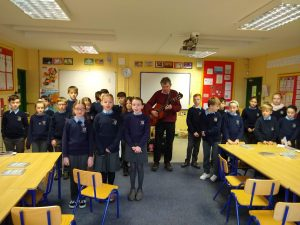4th Class Folklore Project with John Spillane