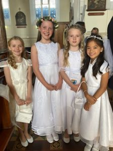 Communion Day comes at last for the Boys and Girls of Scoil Barra Naofa!